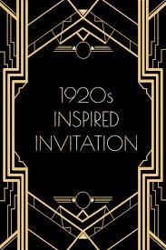 gatsby invitations great gatsby invitation template themesflip