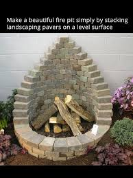 Fire Pit Diy Amp Ideas Diy 40 Unique Diy Features To Beautify Your Garden Yards Stone And