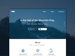 hmk website template sketch freebie download free resource for