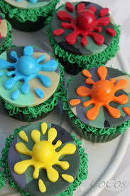 halloween birthday cupcake ideas 22 best paintball cakes images on pinterest paintball cake