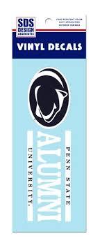 penn state alumni sticker penn state alumni stripe decal souvenirs stickers and decals