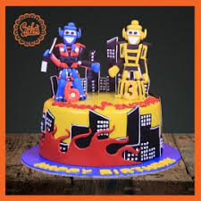 cake transformers transformers theme cake delivery all karachi