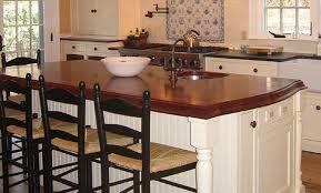 wooden kitchen island impressive mahogany wood countertop kitchen island in