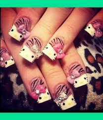 70 best uñas hello kitty images on pinterest hello kitty nails