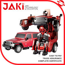 toy jeep for kids high quality one key change deformation toys deformation robot