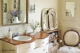 Bathroom Necessities Faded Charm A Romantic Vision