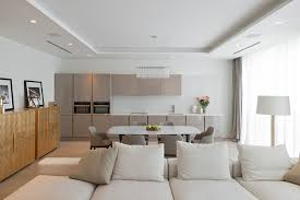 Living Room Lighting Apartment Lighting Details Create Drama In Modern Open Plan Apartment