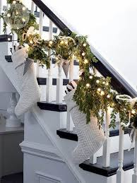 wonderful christmas staircase decorations you need to see page 3