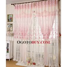 Girls Bedding And Curtains by Retro Floral Girls Bedroom Or Living Room Pink Lace Curtains Buy