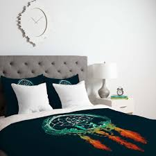 budi kwan dream catcher duvet cover from deny designs deny
