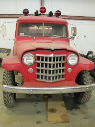 jeep wagon for sale 1951 fire truck blitz wagon sold ewillys
