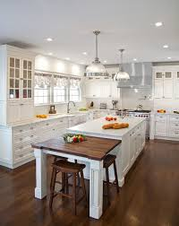 Traditional White Kitchens - transitional white kitchen in ny traditional kitchen new