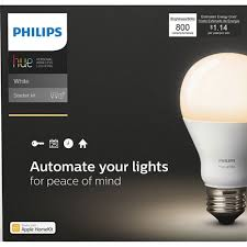 best buy light bulbs philips hue a19 smart led starter kit white smart lights best