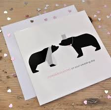 wedding congrats card congratulations on your wedding day card by alstead