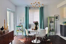 Dining Room Glass Cabinets by Danish Inspirations For A Midcentury Dining Room With A Glass