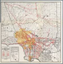 La County Map Los Angeles County David Rumsey Historical Map Collection