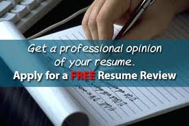 Get Your Resume Reviewed Resume Review Free 23166