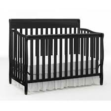 Black 4 In 1 Convertible Crib Graco Stanton 4 In 1 Convertible Crib Black Walmart