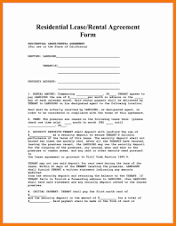 Rental House Lease Agreement Template 11 Apartment Rental Agreement Resume Holder