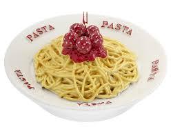 spaghetti and meatballs personalized ornament