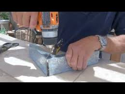 Metal Stud Outdoor Kitchen - diy outdoor kitchen build island using metal studs how to