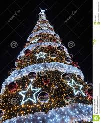 giant christmas trees christmas lights decoration
