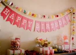home decoration ideas for birthday decorating of party