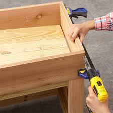 Lowes Planter Box by Deck And Patio Storage Planter