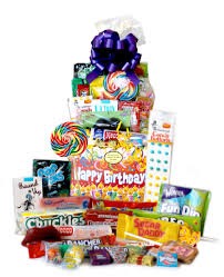 birthday gift baskets retro candy gifts and vintage candy assortments happy birthday