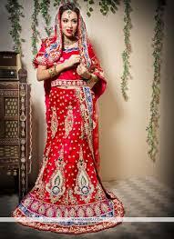 Fish Style Saree Draping Gorgeous Red Net Fish Cut A Line Wedding Lehenga Choli Lehenga Choli