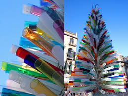 Decoration Material For Christmas Tree by Top 10 Crazy Christmas Trees Made From Bottles Bikes Shopping