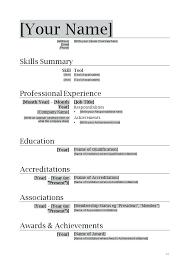 custom resume templates resume templates word resume template word