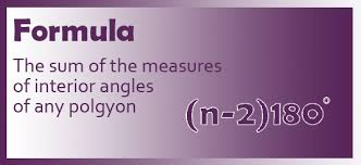 Formula For Interior Angles Of A Polygon 5 1 U2013 Angle Sums Of A Polygon The New Village Math Academy