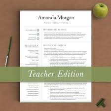 Pages Resume Templates 13 Best Teacher Resume Templates Images On Pinterest Resume
