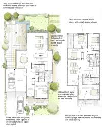 Large Bungalow Floor Plans Best 25 Narrow House Plans Ideas On Pinterest Small Open Floor