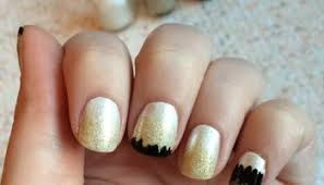 nail art grey feather look using sephora formula x in grey matter