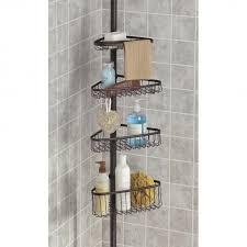 bronze bathtub caddy interdesign york tension bath tub caddy bronze kitchen stuff plus