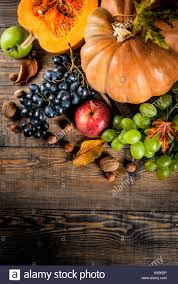 autumn and thanksgiving harvest concept seasonal fall fruits and