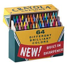crayola crayons big box of 64 ornament keepsake ornaments