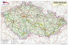 Map Of Czech Republic Tabor Holiday In Czech Republic Accommodation Tabor Holiday Cz
