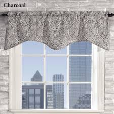 lola moroccan damask scalloped window valance valance damasks
