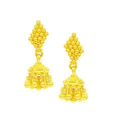 gold ear ring images chandukaka saraf sons pvt ltd