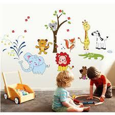 autocollant chambre bébé fovo wall stickers muraux diy autocollant chambre bébé dessin