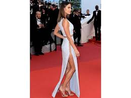 10 celebrities at cannes who made thigh high slit dresses the