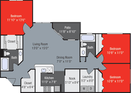 Floor 13 by 1 2 And 3 Bedroom Apartments In Jupiter Fl Offering A Pool