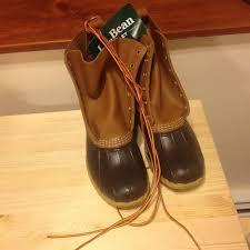 ll bean s boots size 12 s size 12 l l bean 8 duck boots w tags l l bean mens
