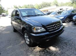 mercedes roswell ga 2002 mercedes m class ml500 awd 4matic 4dr suv in roswell ga