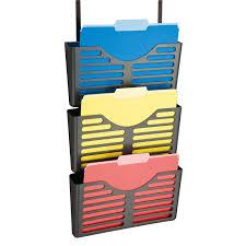 amazon com officemate verticalmate file pocket with hanger set