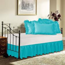decorations elegant bed decorating ideas with daybed dust ruffle