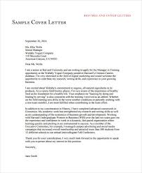 Resume Cover Letter Sample Free by 39 Free Cover Letter Samples Free U0026 Premium Templates